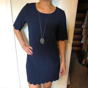 Navy blue Tunic styled dress